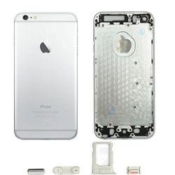 Carcaça/Chassi do iPhone 6 PLUS (Prata/Cinza)