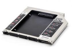 Adaptador Dvd P/ Hd Ou Ssd Macbook/outros Caddy 9.5mm Sata