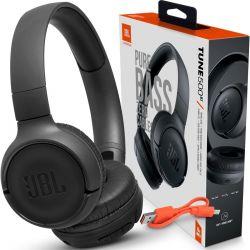 Fone Bluetooth JBL 500BT (ORIGINAL) Preto