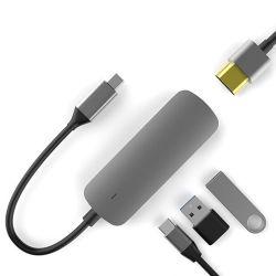 Adaptador/HUB 4x1 USB-C / HDMI/USB 3.0